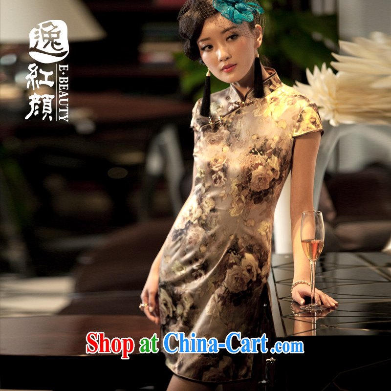 The proverbial hero once and for all as soon as possible take to shadow summer new women Beauty fashion clothing and even short skirts, stamp duty cheongsam dress suit skirt XL