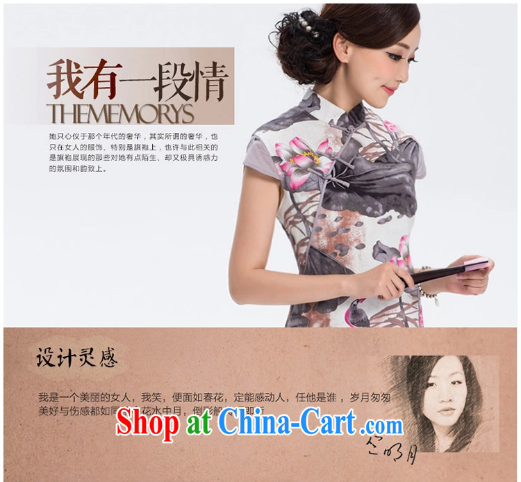 Once I should be grateful if you fatally jealous profusion of Yau Ma Tei cotton robes cotton the new improved Stylish retro linen long cheongsam dress suit S pictures, price, brand platters! Elections are good character, the national distribution, so why buy now enjoy more preferential! Health