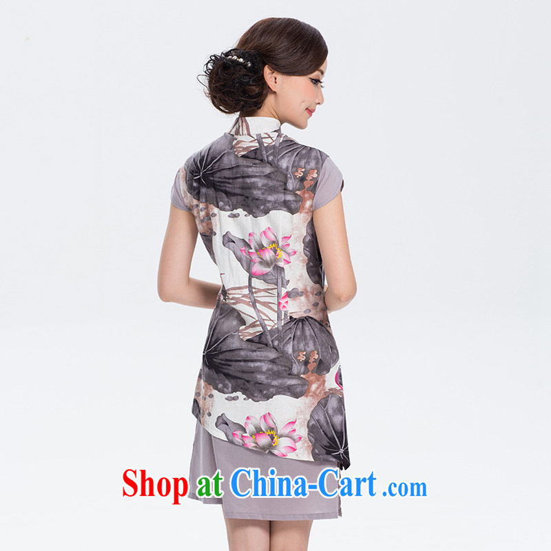 once and for all and I should be grateful if you fatally jealous profusion of cotton the cotton dresses the new improved Stylish retro linen long cheongsam dress suit S, fatally jealous once and for all, and, shopping on the Internet