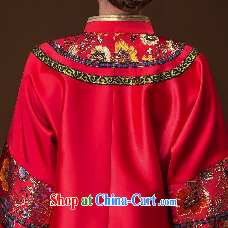 The bride's classic show kimono hand embroidery cheongsam dress classic wedding dresses 655 L, the bride, shopping on the Internet