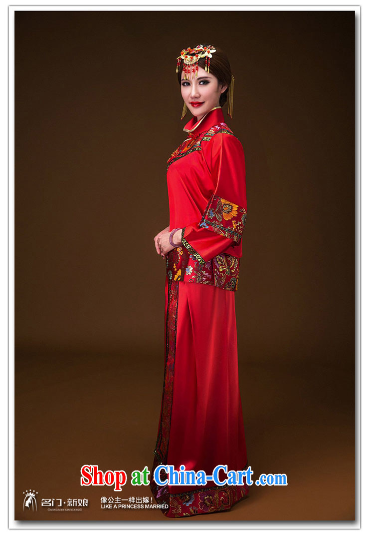 The bride's classic show kimono hand embroidery cheongsam dress classic wedding dresses 655 L pictures, price, brand platters! Elections are good character, the national distribution, so why buy now enjoy more preferential! Health