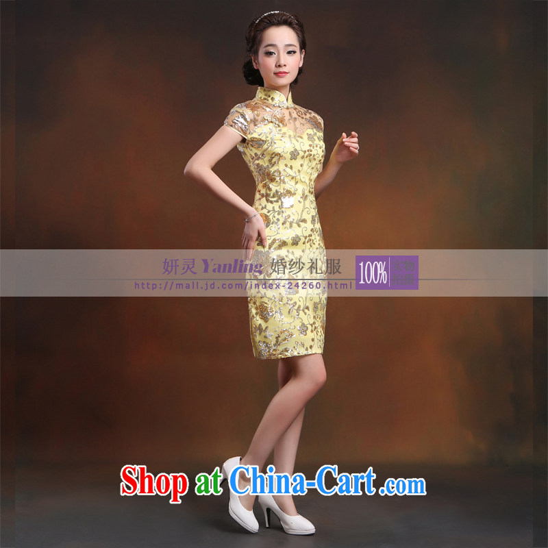 Her spirit/YANLING new, improved and stylish short, short-sleeved suit simple outfit 14,030, her spirit (Yanling), online shopping