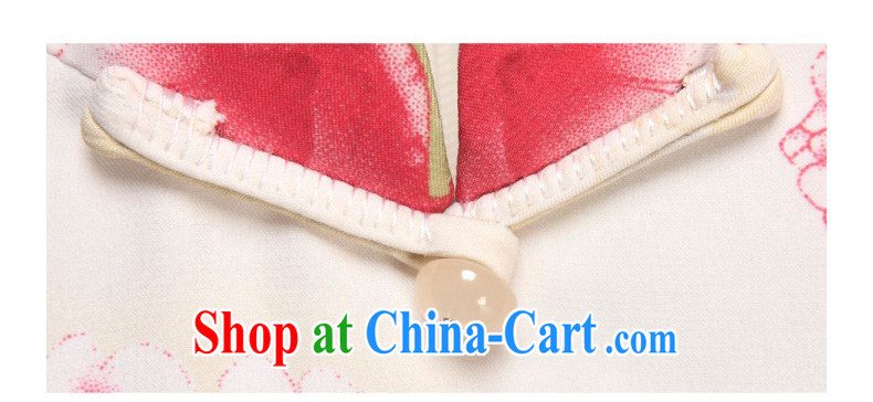 Wood is really the 2015 spring and summer new elegant beauty improved short cheongsam Chinese dresses 01,003 13 yellow XXL pictures, price, brand platters! Elections are good character, the national distribution, so why buy now enjoy more preferential! Health
