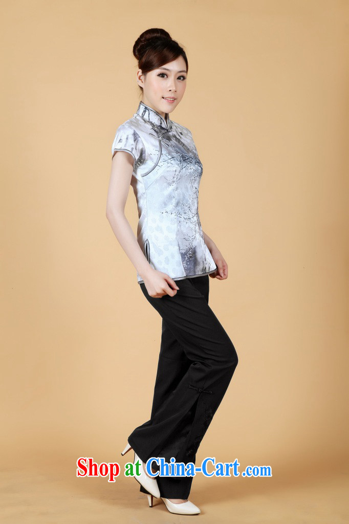 Nigeria, the 2014 new summer, stamp duty for short-sleeved Chinese improved cheongsam - 1 white M pictures, price, brand platters! Elections are good character, the national distribution, so why buy now enjoy more preferential! Health