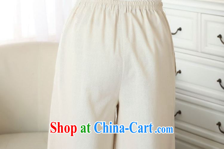 Jing An older children, Trouser Press Trouser press summer wear elastic waist cotton Ma hand-painted Tang pants MOM pants 9 pants ethnic wind widening and trouser press P 0012 M yellow L pictures, price, brand platters! Elections are good character, the national distribution, so why buy now enjoy more preferential! Health
