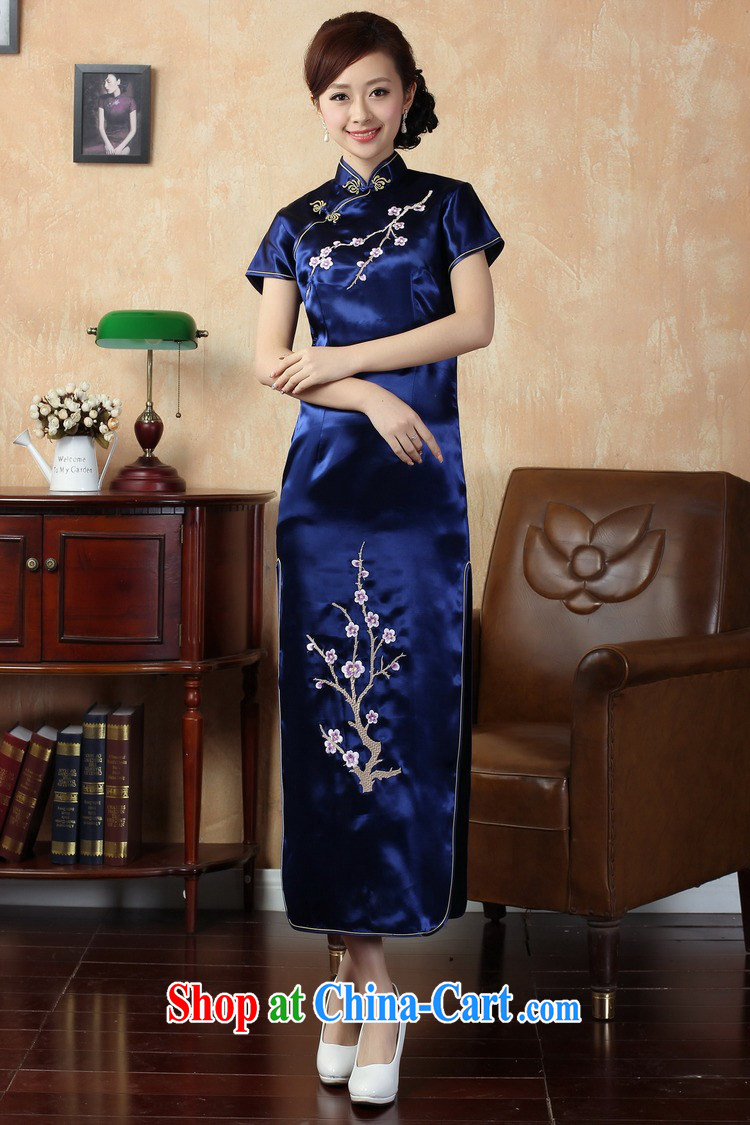 389173259a5 Jing An outfit summer improved retro dresses damask