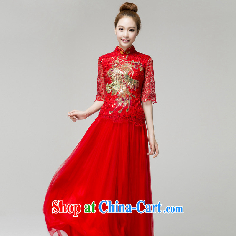 wedding dresses new bridal wedding dresses serving toast summer stylish Phoenix, for evening dress red customer service to size up to do not support replacement