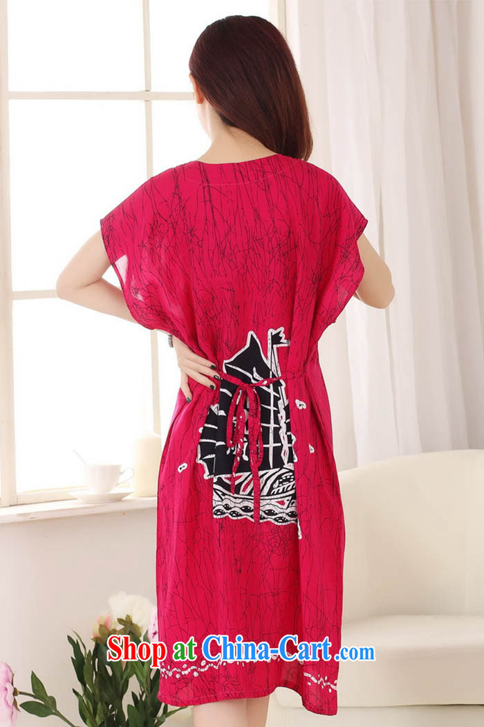 Ko Yo Mephidross 2015 Colorful spring and summer new cotton fashion round collar short-sleeved relaxed and comfortable pajamas home service S 0116 red are code pictures, price, brand platters! Elections are good character, the national distribution, so why buy now enjoy more preferential! Health
