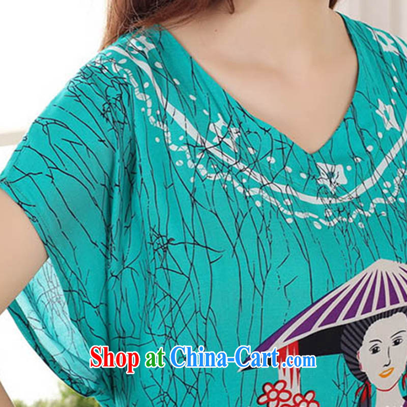 Ko Yo Mephidross 2015 Colorful spring and summer new cotton fashion round collar short-sleeved relaxed and comfortable pajamas home service S 0116 red are code, capital city sprawl, shopping on the Internet