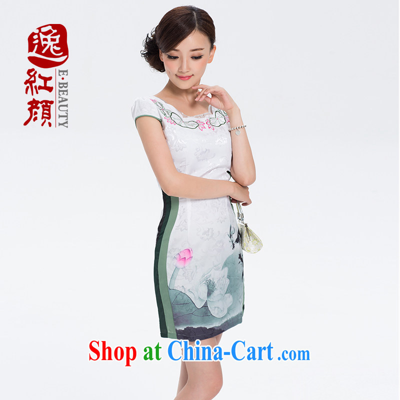 The proverbial hero once and for all as soon as possible I would be grateful if you could South Africa China wind summer girls improved daily qipao dresses summer ethnic wind suit XL