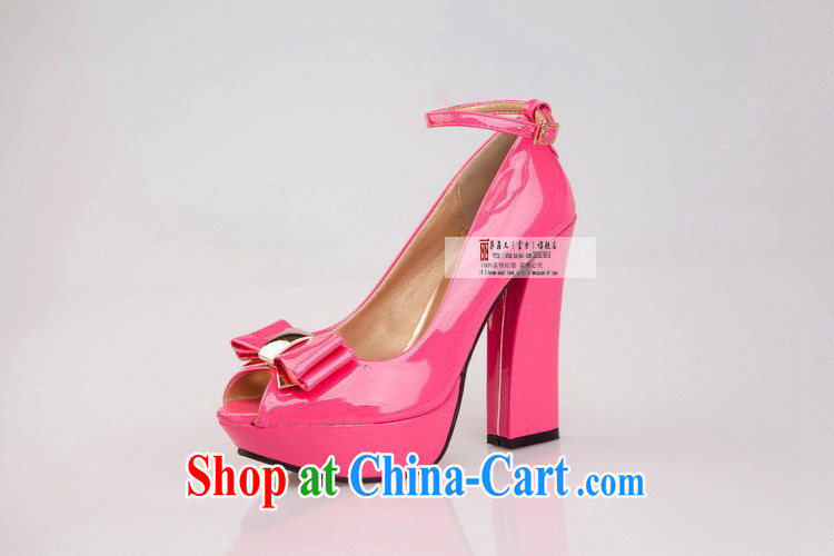 2014 new, bold with waterproof single fish mouth shoes high-heel shoes, shoes Women's shoes spring and summer to lb some HX 210 black 9 pictures, price, brand platters! Elections are good character, the national distribution, so why buy now enjoy more preferential! Health
