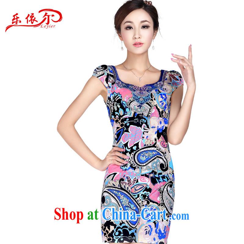 And, according to Mr Ronald ARCULLI new stylish sexy beauty cheongsam dress improved short cheongsam graphics thin retro floral and elegant dress suits XL