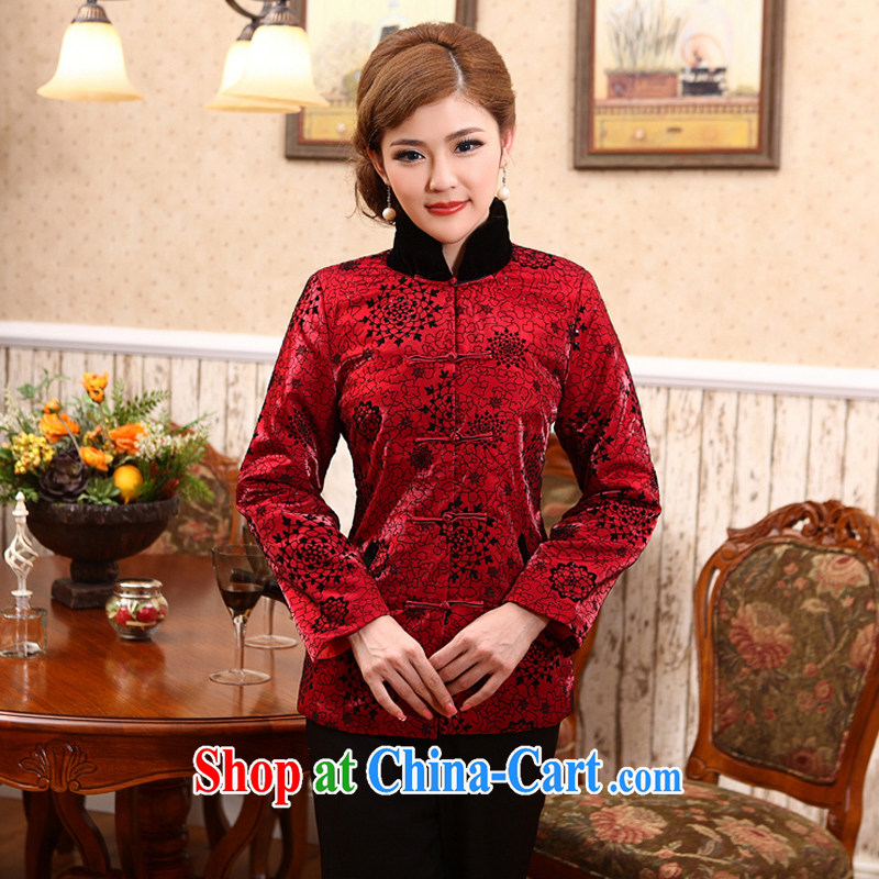 Dresses 2014 New Classic improved winter Chinese parka brigades