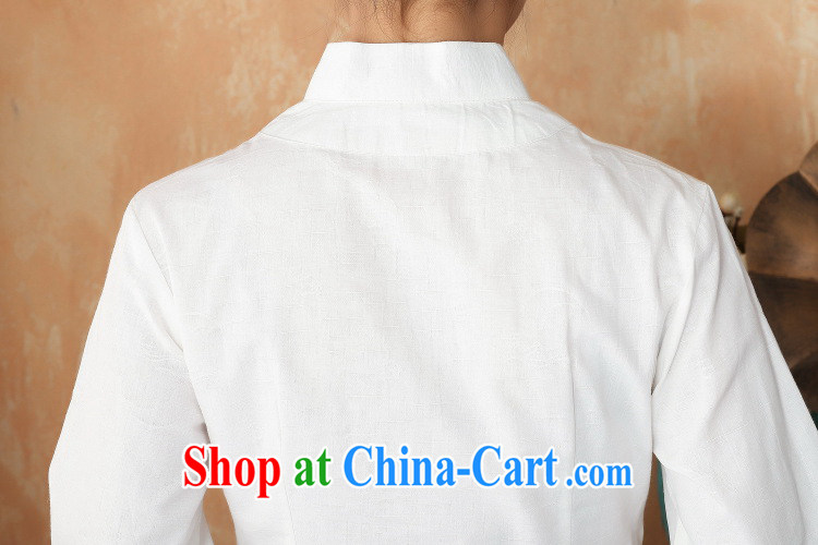 Take the 2014 new summer stylish hand-painted robes cotton the larger Chinese female improved Han-chinese 2393 - 2-1, white 2 XL pictures, price, brand platters! Elections are good character, the national distribution, so why buy now enjoy more preferential! Health