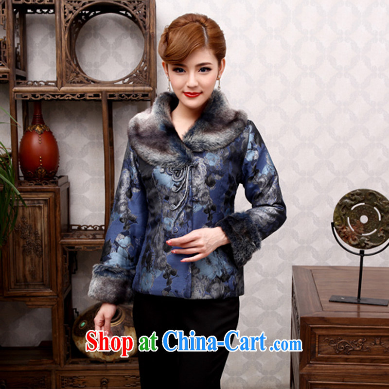 2014 cheongsam Chinese countrysides Tang Women's clothes parka brigades