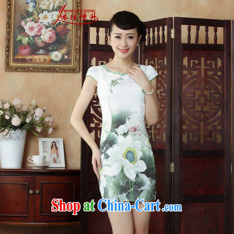 In accordance with the situation in summer 2015 stylish new round ends green I would be grateful if you could stamp beauty dresses LGD_D 0238 _picture color 2 XL