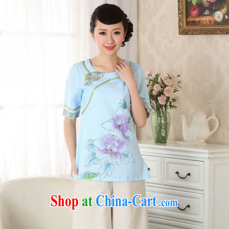 And Jing Ge light blue 2 XL
