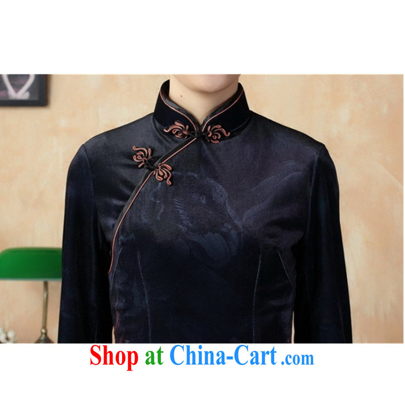 In accordance with the conditions and l stretch the wool painting stylish classic in short sleeves Chinese qipao LGD/TD 0003 #picture color 2 XL, according to the situation, and, shopping on the Internet