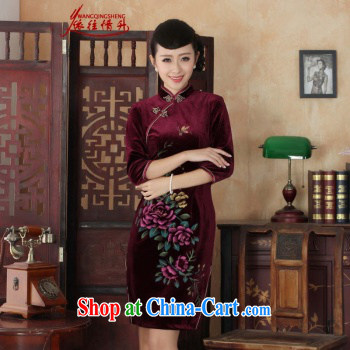 In accordance with the conditions and l stretch the wool painting stylish classic in short sleeves Chinese qipao LGD/TD 0008 #picture color 2 XL pictures, price, brand platters! Elections are good character, the national distribution, so why buy now enjoy more preferential! Health