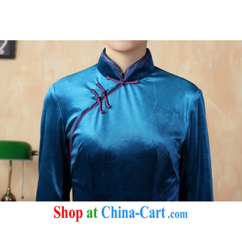 In accordance with the conditions and l stretch the wool painting stylish classic in short sleeves Chinese qipao LGD/TD 0008 #picture color 2 XL, according to the situation, and, shopping on the Internet