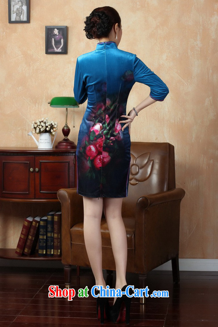 According to L stretch the wool painting stylish classic in short sleeves cheongsam Chinese LGD/TD 0004 #picture color 2 XL pictures, price, brand platters! Elections are good character, the national distribution, so why buy now enjoy more preferential! Health