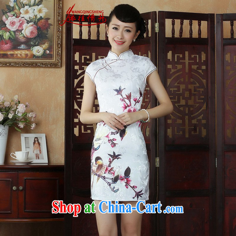 In accordance with the situation in summer 2015 trendy new products is a hard stamp duty cultivating Chinese qipao LGD_D 0248 _picture color 2 XL