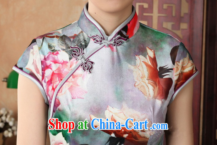 According to summer in new stylish classic stretch gold velour poster short-sleeve Chinese qipao LGD/TD 0012 #picture color 2 XL pictures, price, brand platters! Elections are good character, the national distribution, so why buy now enjoy more preferential! Health