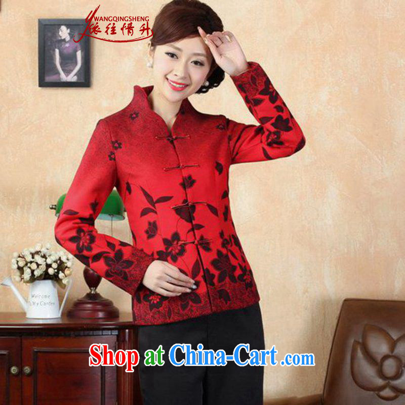 In accordance with the conditions in Spring and Winter Fashion new products, new decals wool, cultivating Tang jackets LGD_J 0067 _picture color XL