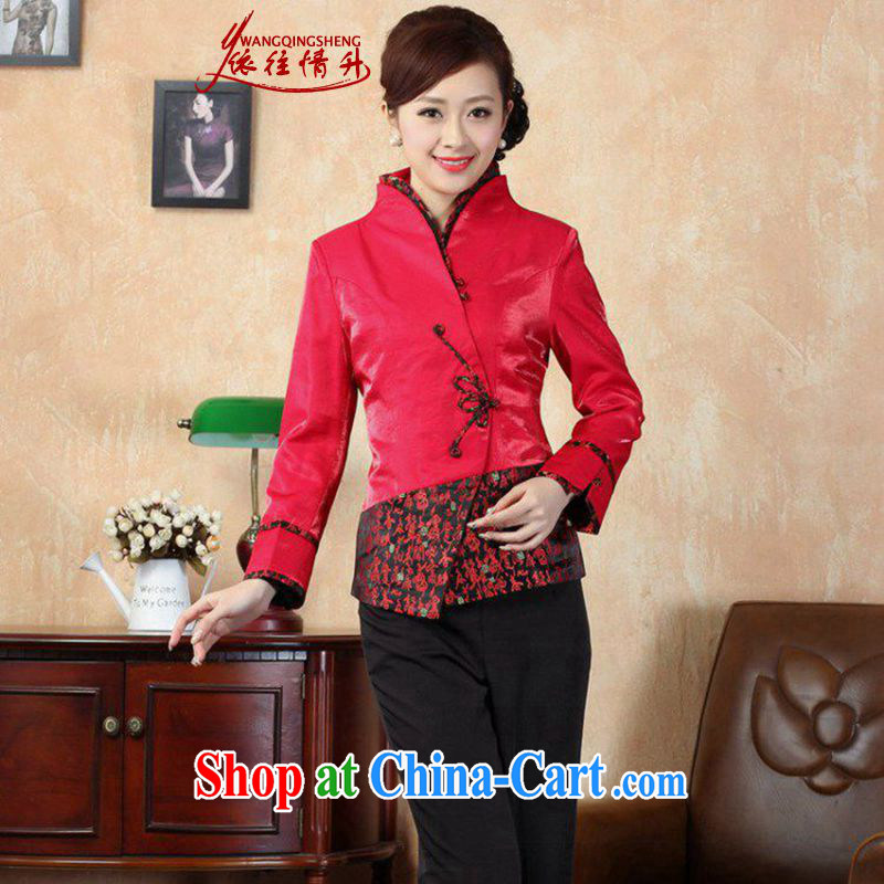 According to the conditions in Spring and Autumn and stylish new products, stamp duty for stitching Sau San T-shirt Tang jackets LGD/J 0070 #picture color 3XL