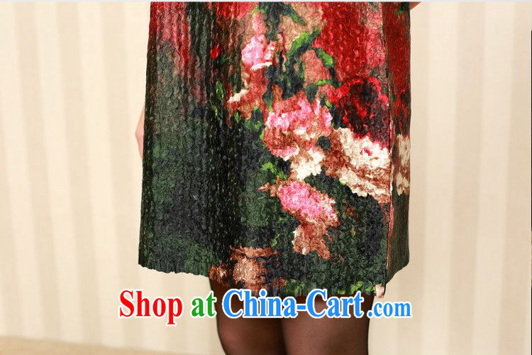 Forest narcissus fall 2014 the new, old fashion, long, special folds, your stamp is silk Chinese Dress XYY - 1286 07 #XL pictures, price, brand platters! Elections are good character, the national distribution, so why buy now enjoy more preferential! Health