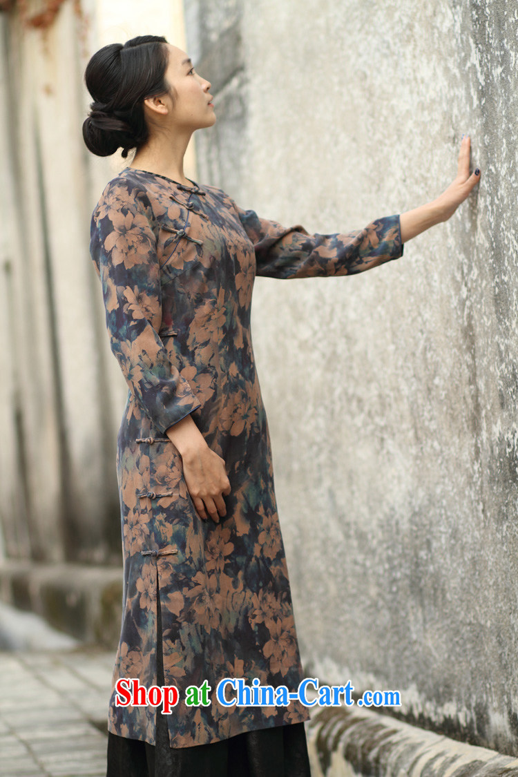 Asked about Ramadan and the Hyatt and autumn as soon as possible new round-collar low-power's long-sleeved suit Silk Cheongsam gradient manual custom 15 Day Shipping manual customization, provides a detailed picture, price, brand platters! Elections are good character, the national distribution, so why buy now enjoy more preferential! Health