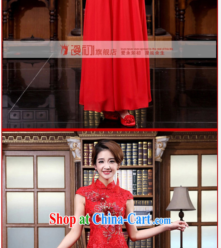 Diffuse early marriages served toast spring 2015 New red retro dresses Package/snow woven dress/evening dress red XXL pictures, price, brand platters! Elections are good character, the national distribution, so why buy now enjoy more preferential! Health