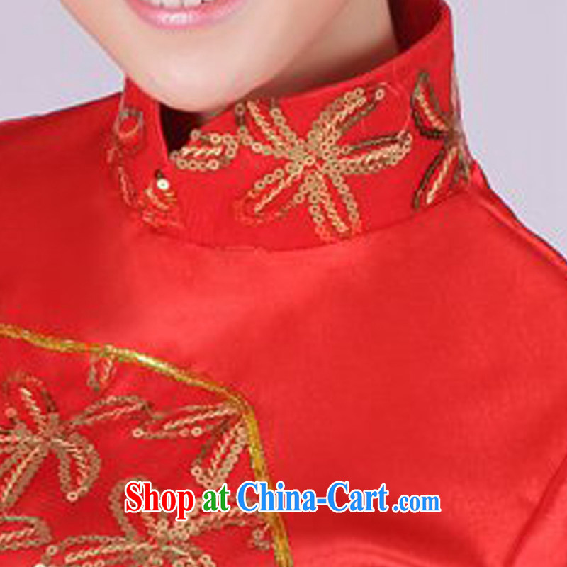 I should be grateful if you would arrange for Performing Arts Hong Kong dream classical dance costumes dance Yangge costumes theatrical performances drama skit HXYM 0004 red XXXL I should be grateful if you, Hong Kong Arts dreams, shopping on the Internet