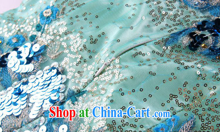 2013 new improved Stylish retro embroidery high on the truck long cheongsam dress dress Factory Shenzhen wholesale picture color XXL pictures, price, brand platters! Elections are good character, the national distribution, so why buy now enjoy more preferential! Health