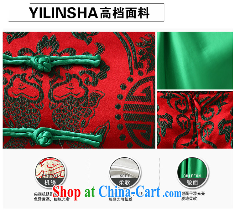 2015 New Evening Dress improved cheongsam green dress short erase chest Princess small dress tailored pictures, price, brand platters! Elections are good character, the national distribution, so why buy now enjoy more preferential! Health