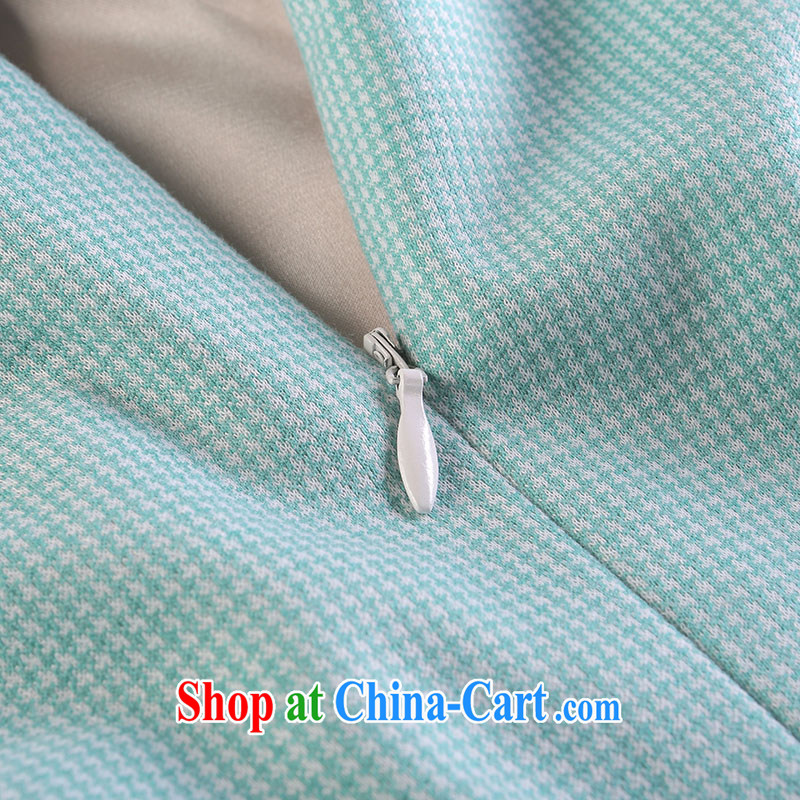 proverbial hero once and for all, in white dresses sleeveless dresses retro elegant autumn 2015 the cheongsam dress improved stylish beauty water green XL, fatally jealous once and for all, and to shop on the Internet
