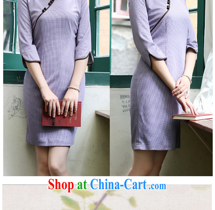 once and for all and fatally jealous Zi Yu new cheongsam dress retro elegant 2015 spring and summer cheongsam dress improved stylish beauty in color 2 XL pictures, price, brand platters! Elections are good character, the national distribution, so why buy now enjoy more preferential! Health