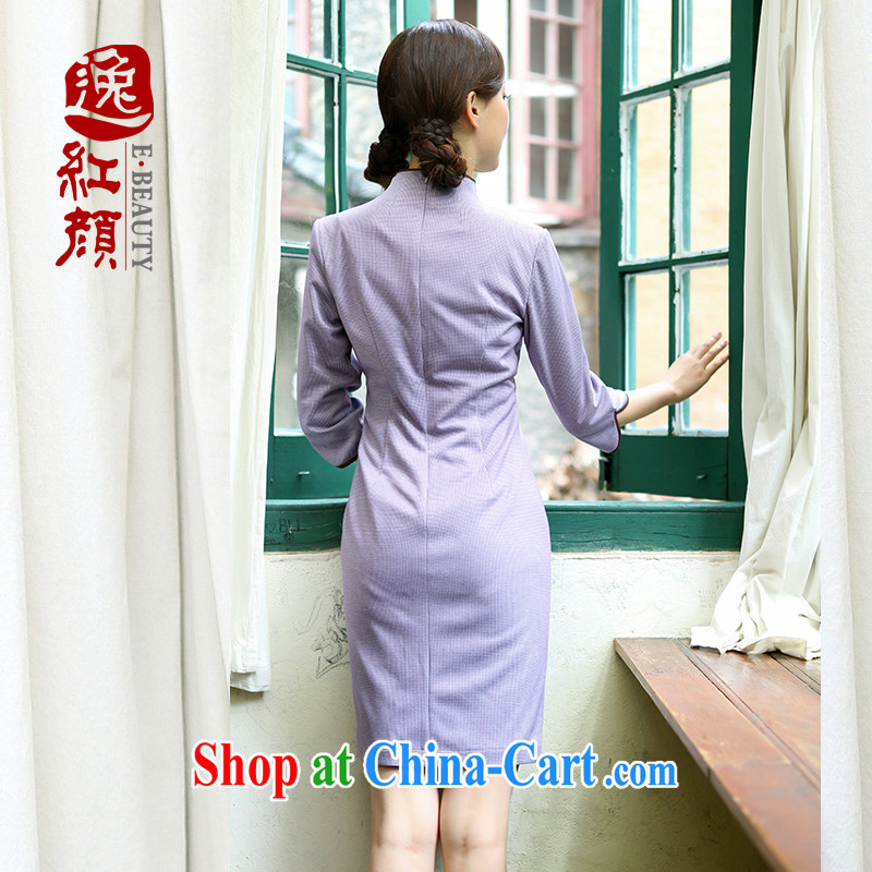 once and for all and fatally jealous Zi Yu new cheongsam dress retro elegant 2015 spring and summer cheongsam dress improved stylish beauty in color 2 XL, fatally jealous once and for all, and, on-line shopping