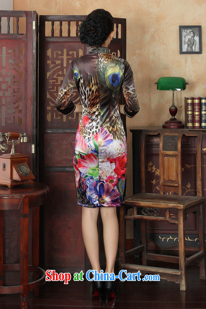 Ko Yo vines into colorful spring and summer new stylish Ethnic Wind and elegant 7 cuff gold velour beauty style cheongsam dress the code TD TD 0033 0033 180/3 XL pictures, price, brand platters! Elections are good character, the national distribution, so why buy now enjoy more preferential! Health