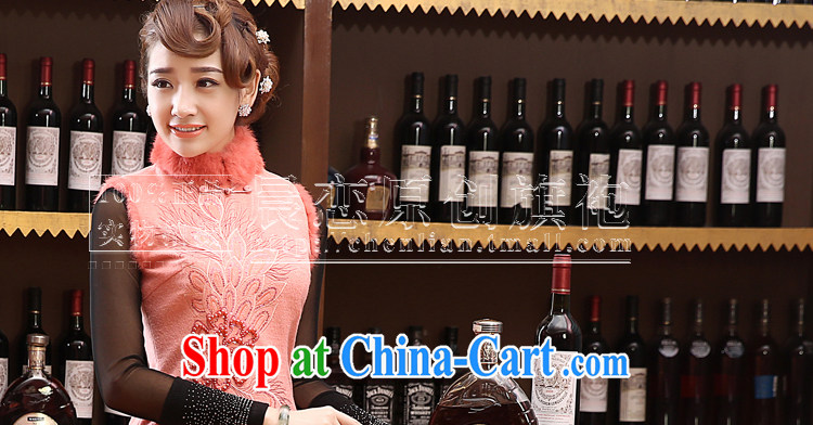Morning, 2014 new Autumn and Winter Fashion cheongsam improved daily retro cheongsam dress wool annual meeting this short skirt black XXL pictures, price, brand platters! Elections are good character, the national distribution, so why buy now enjoy more preferential! Health