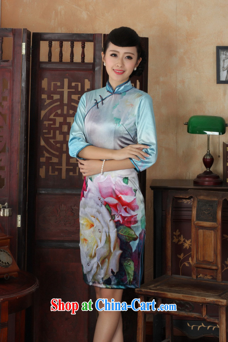 Cheng Kejie, Wiesbaden, new, elegant and classy lady, wool, For manually-tie Sau San Tong with cheongsam dress female figure XXL pictures, price, brand platters! Elections are good character, the national distribution, so why buy now enjoy more preferential! Health