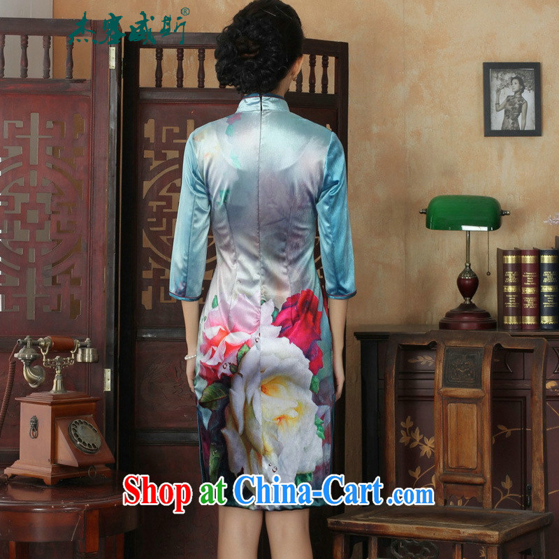 Jack Plug, new, elegant and classy lady, wool, For manually-tie Sau San Tong with cheongsam dress female figure XXL, Jessup, qipao/Tang, and shopping on the Internet