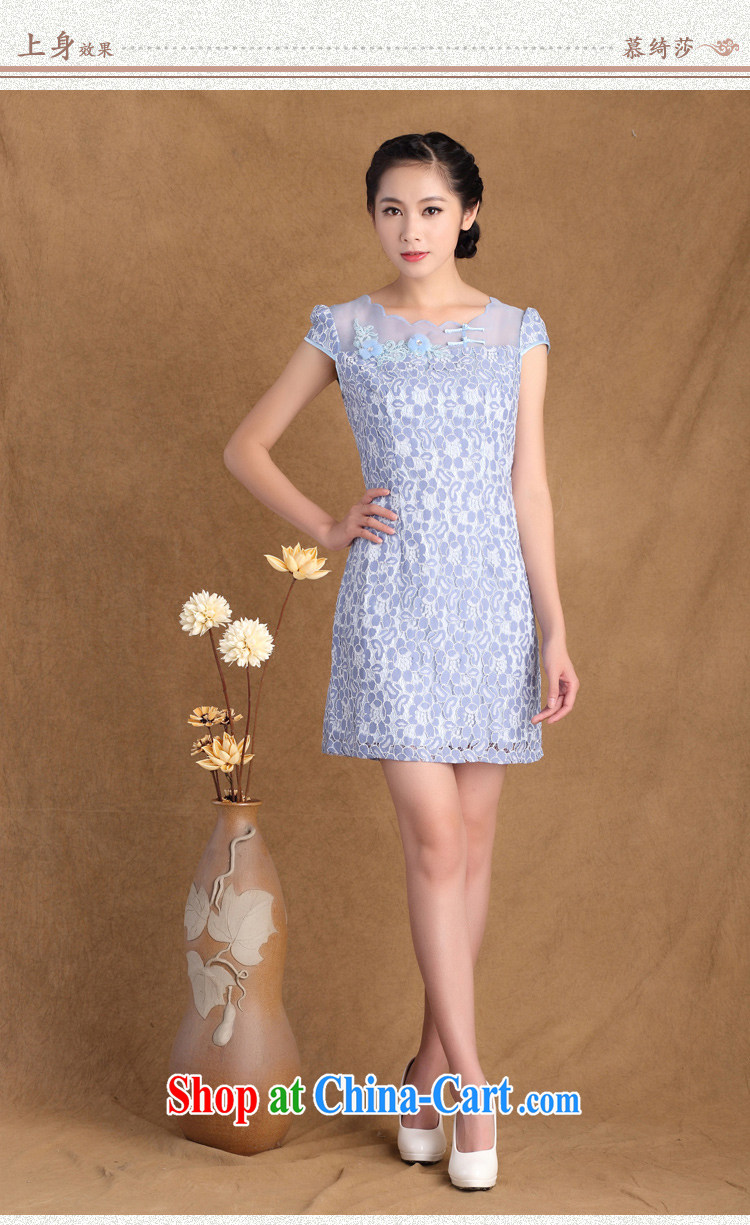 The cross-sectoral Windsor summer 2015 new women's clothing boutique stamp lace Beauty Fashion cheongsam dress 3177 Y B 2 XL pictures, price, brand platters! Elections are good character, the national distribution, so why buy now enjoy more preferential! Health