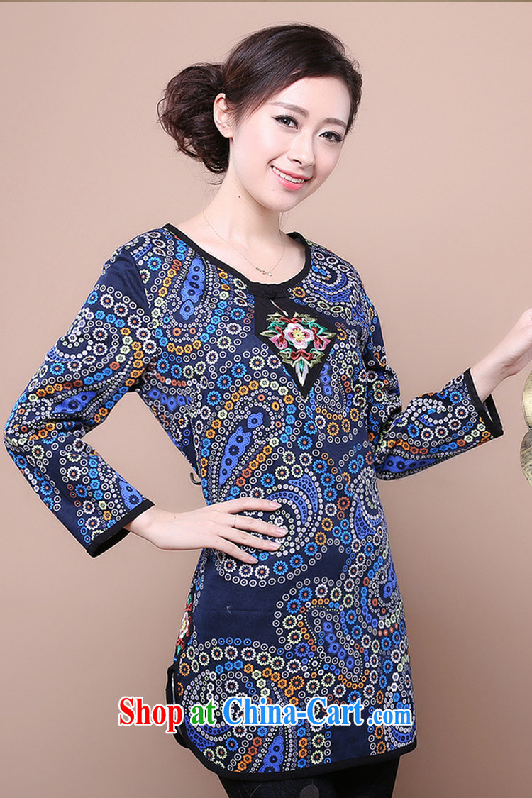 Air Shu Diane autumn 2014 new national style in a new, Mr Ronald ARCULLI women with large, middle-aged female mom is Chinese stamp duty Orchid color XXXL pictures, price, brand platters! Elections are good character, the national distribution, so why buy now enjoy more preferential! Health