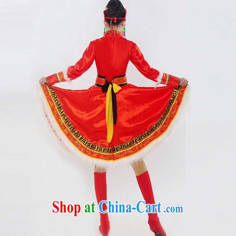 I should be grateful if you would arrange for Performing Arts Hong Kong dream 2014 genuine new Mongolia show serving ethnic minorities Mongolian folk girl costumes dance clothing HXYM 0028 red XXXL I should be grateful if you, Hong Kong Arts dreams, shopp