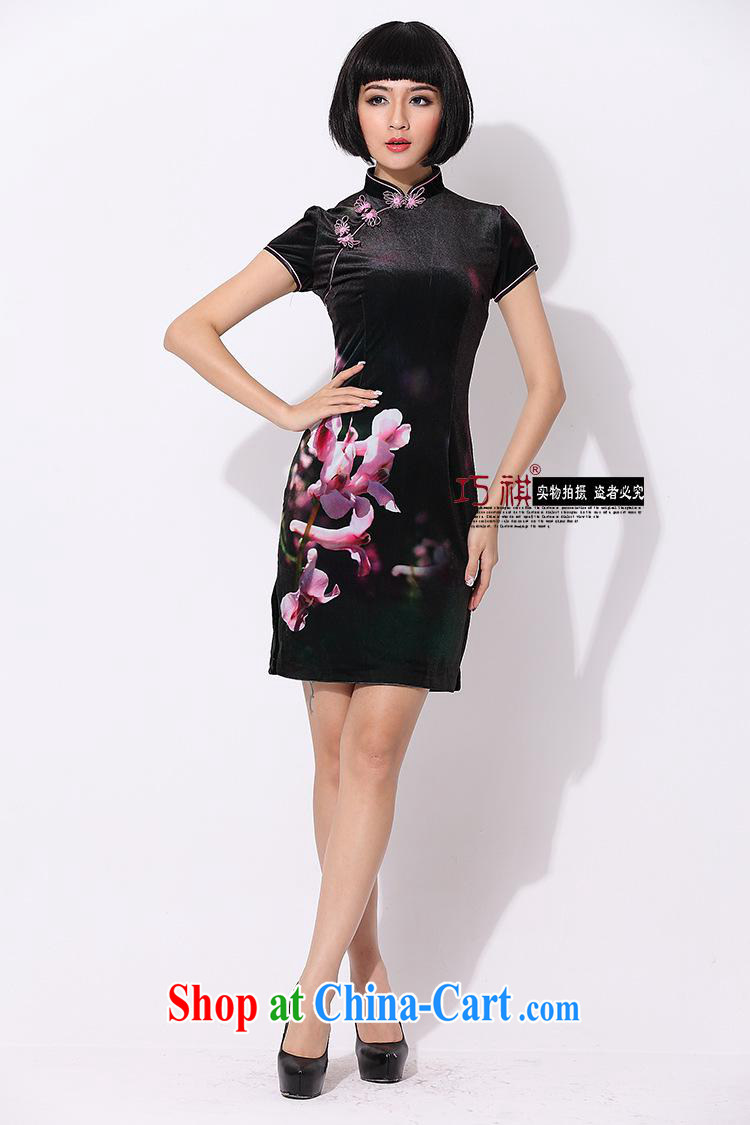 As regards genuine 2014 registration takes the wool short cheongsam dress elegant and stylish improved wool dresses 8010 photo color XXXL pictures, price, brand platters! Elections are good character, the national distribution, so why buy now enjoy more preferential! Health