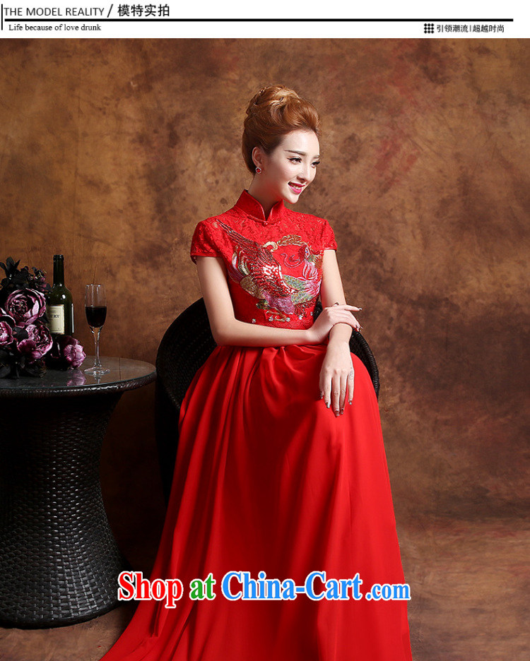 Sophie HIV than high summer wedding dresses 2015 new summer marriages served toast cheongsam dress wedding dress red XXL pictures, price, brand platters! Elections are good character, the national distribution, so why buy now enjoy more preferential! Health