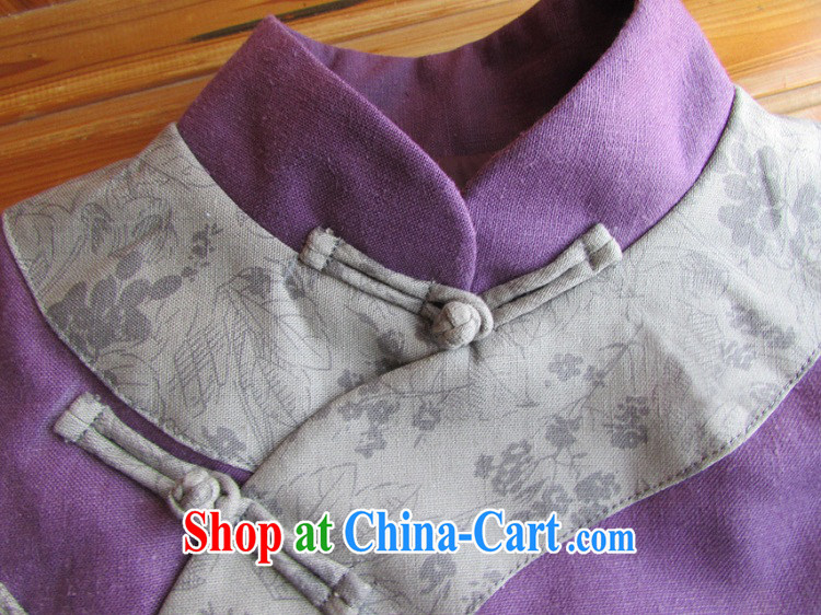Ask a vegetarian winter new elections asked heart Health Women Chinese-snap improved cheongsam quilted coat jacket WXZ 1080 purple L code purely manual 15 Day Shipping pictures, price, brand platters! Elections are good character, the national distribution, so why buy now enjoy more preferential! Health
