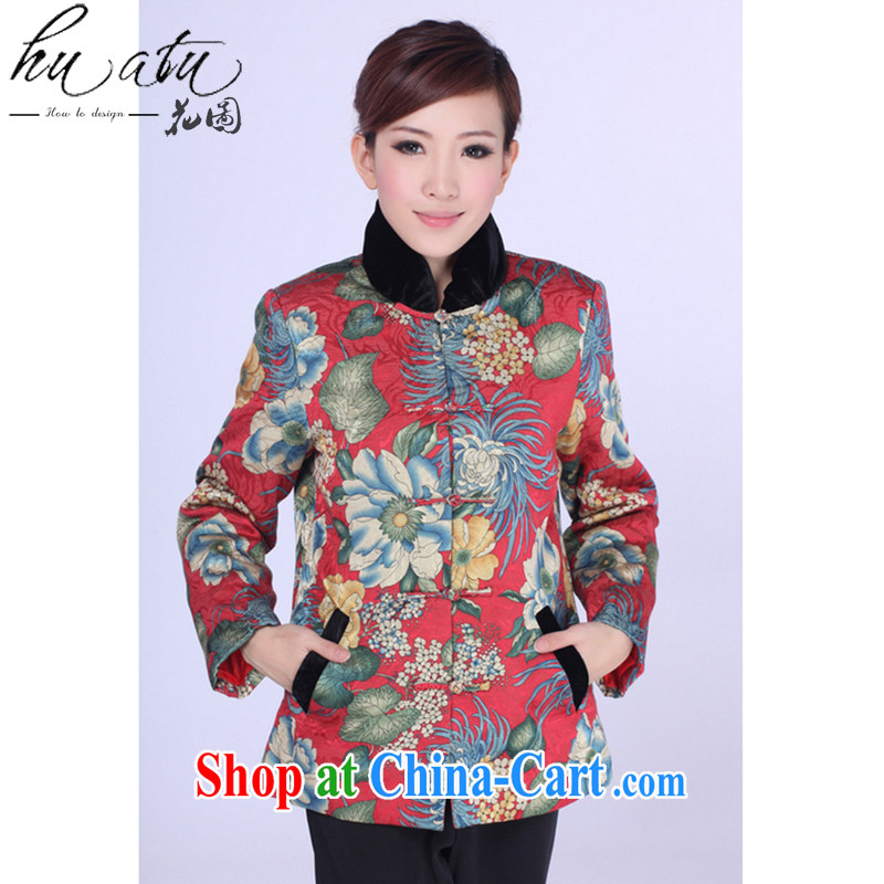 Spend the autumn and winter, new Chinese cheongsam dress Chinese Chinese, for improving the Snap parka brigades