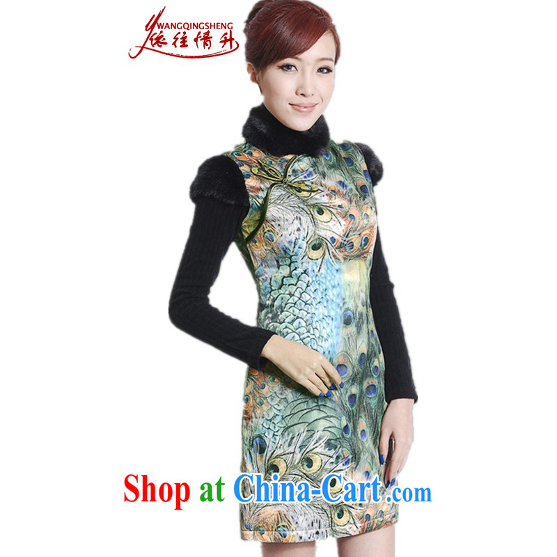 In accordance with the situation in Winter spring new women with improved Chinese qipao, for classic is the cotton sleeveless dresses beauty as shown in Figure 2 XL, in accordance with the situation, and, on-line shopping
